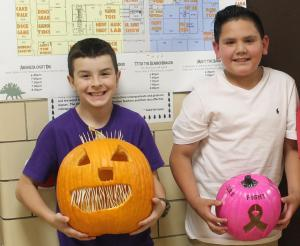 Pumpkin contest winners 5th